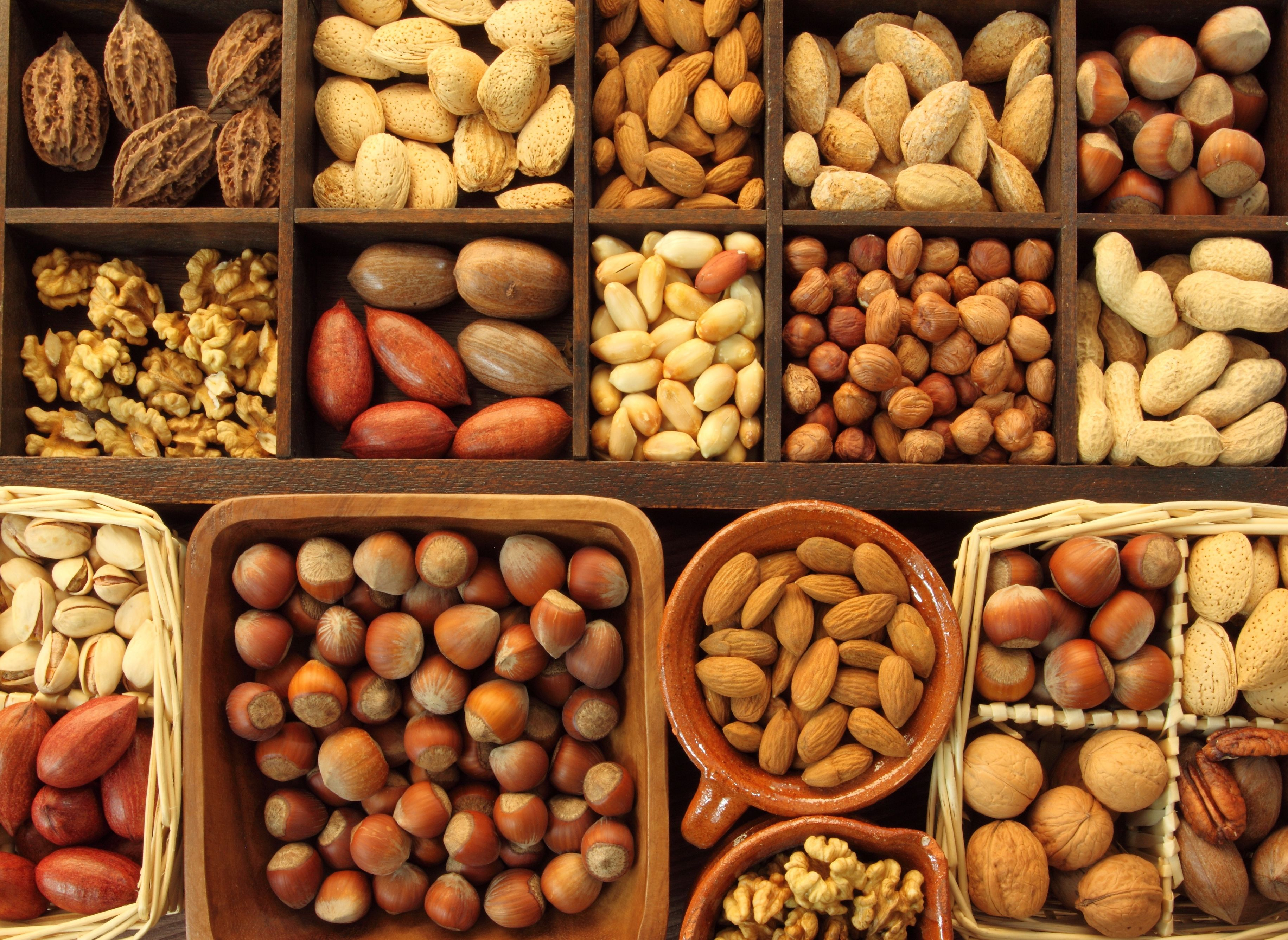 Dry Nuts Hd Free Image: Food Allergen Centre